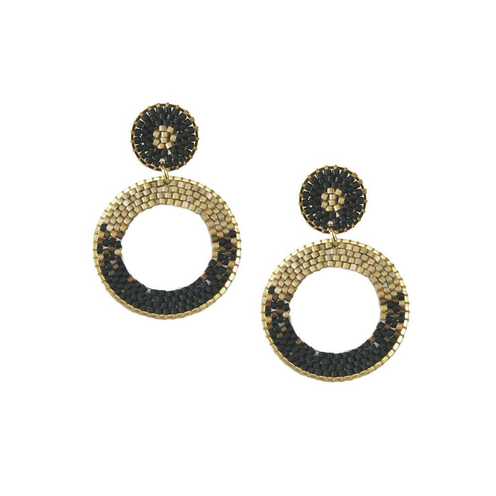 Ellipse Earring-GP-S - Ellipse Earring-GP-S-6816