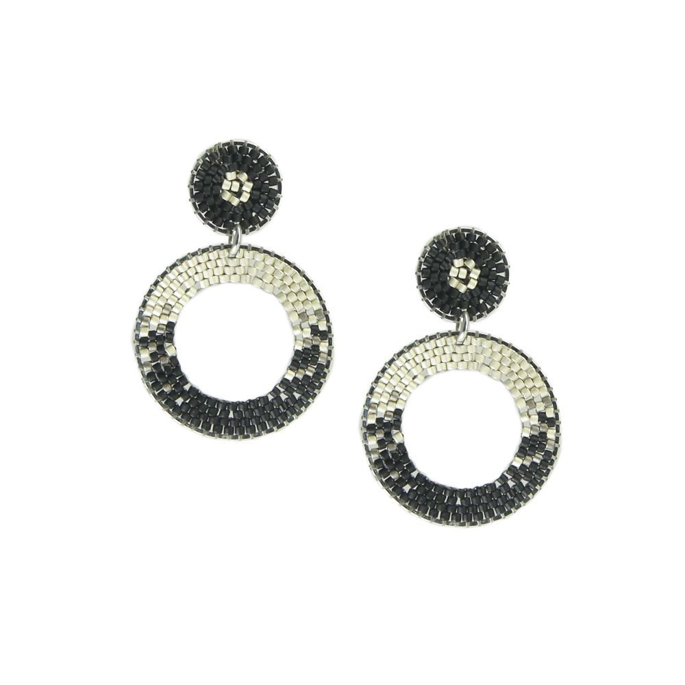 Ellipse Earring-SP-S