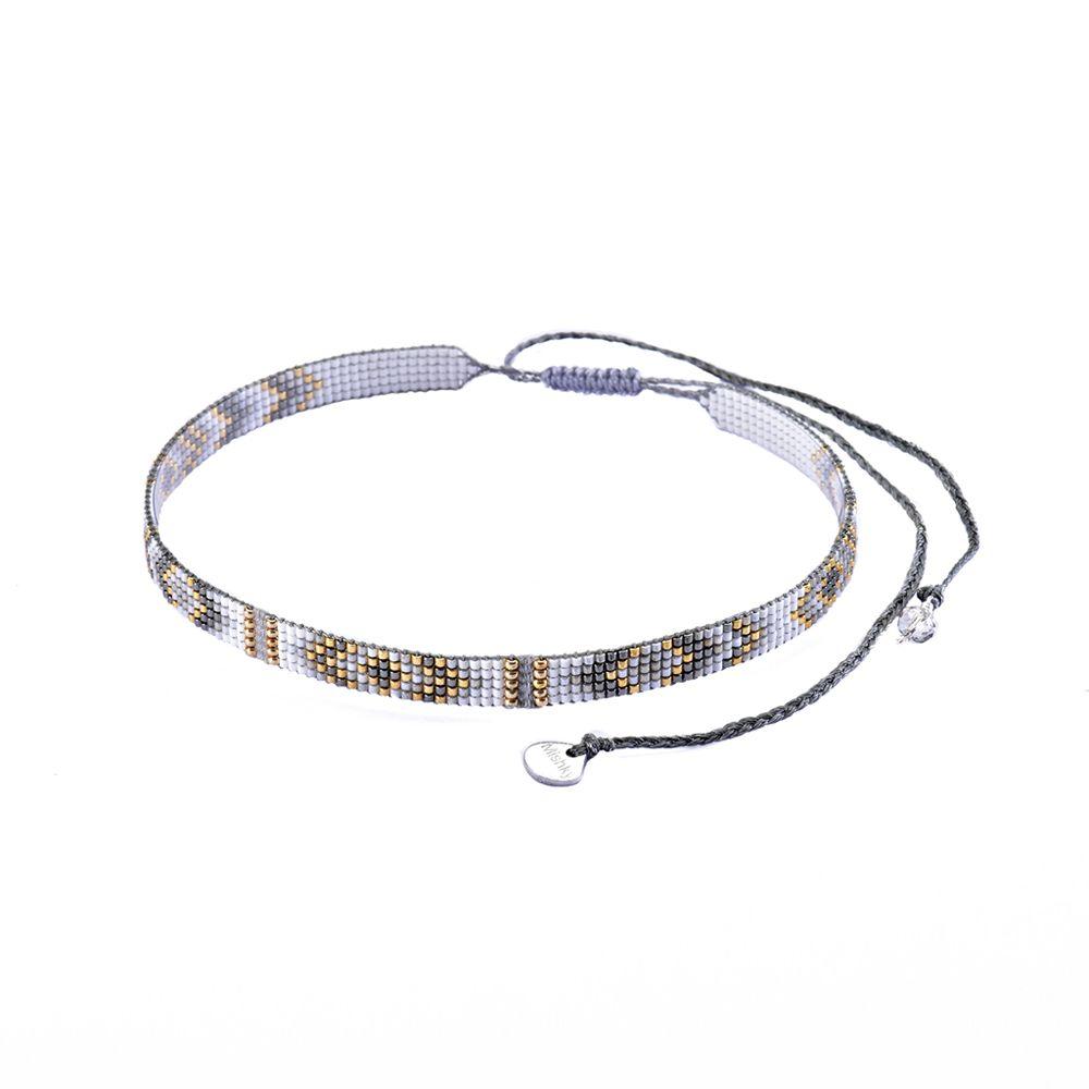 Calla Choker Necklace-BE-S (varios colores) - Calla Choker Necklace-BE-S-4925