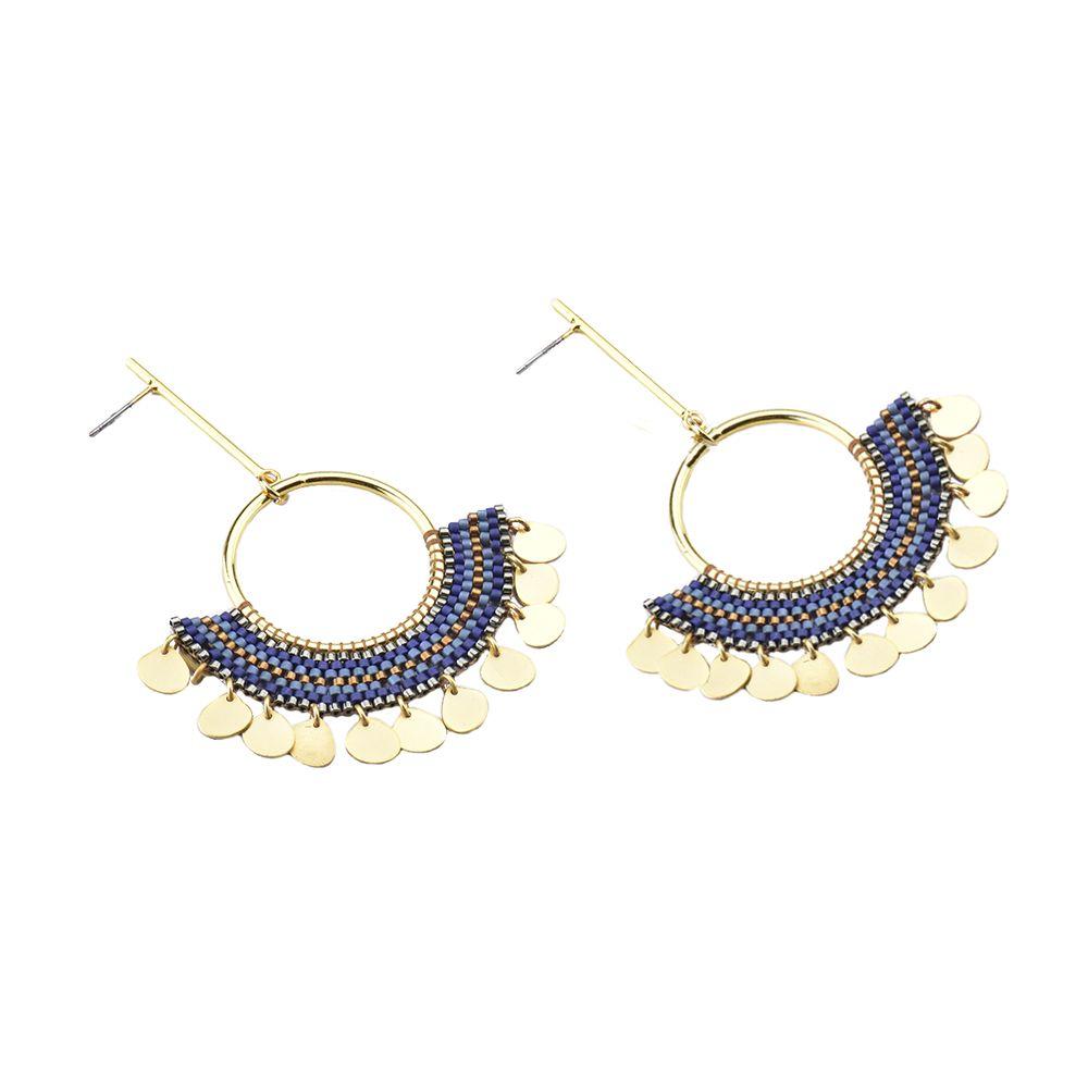 Driblet Earrings-GP-M - Driblet Earrings-GP-M-6437