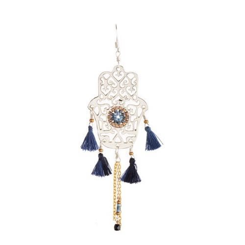 Hamsa Fili Earring-SP-L