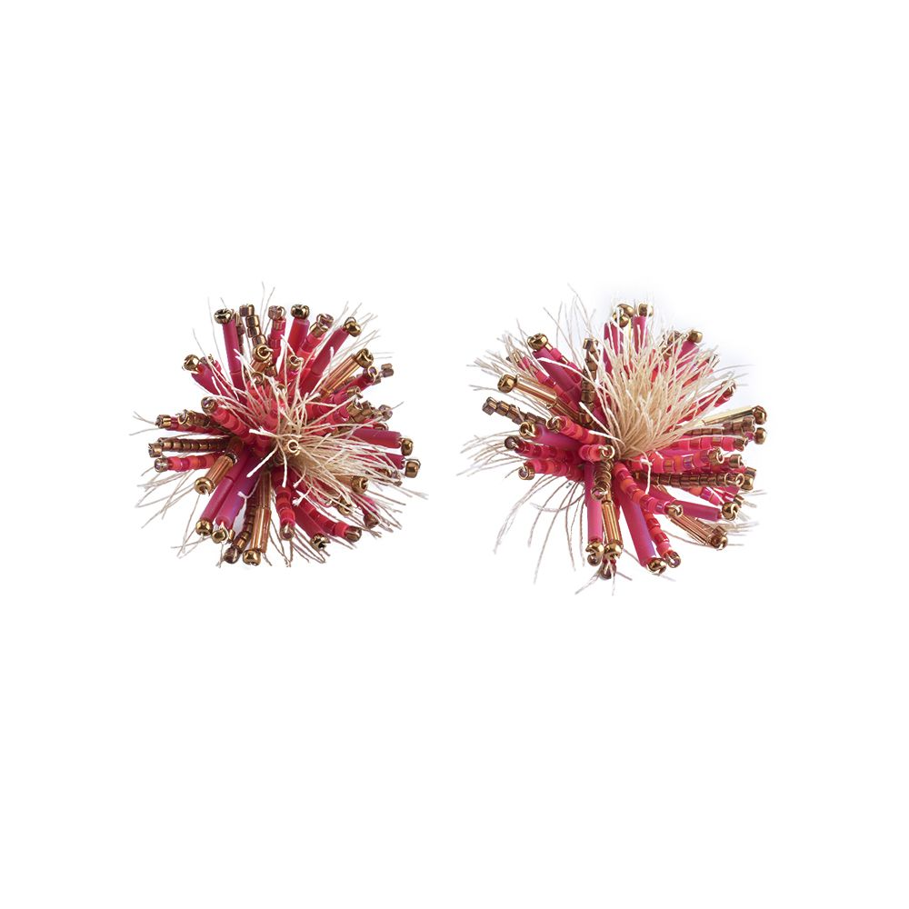 Hedgehod Earring-BE-M (varios colores) - Hedgehod Earring-BE-M-6519