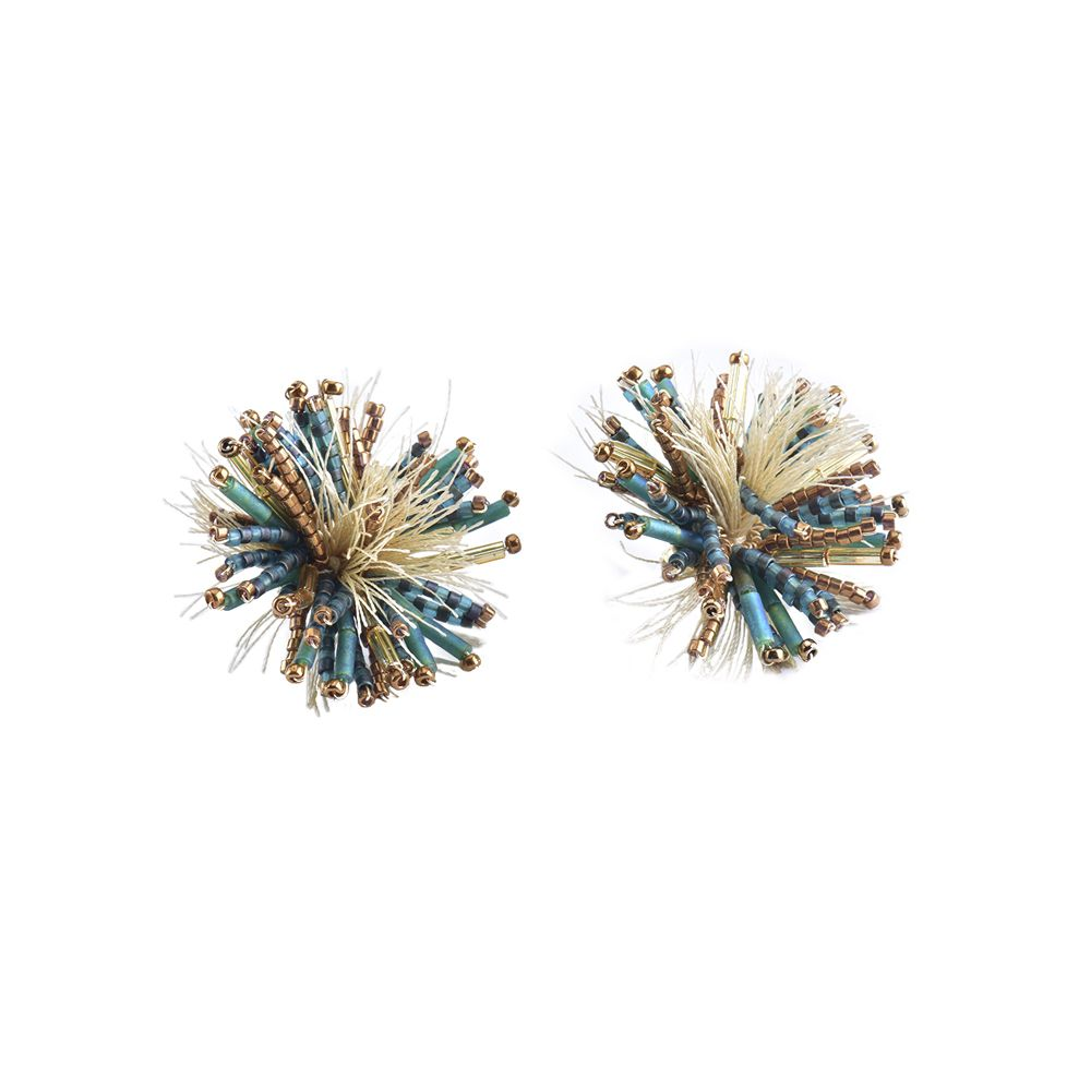 Hedgehod Earring-BE-M (varios colores) - Hedgehod Earring-BE-M-6520