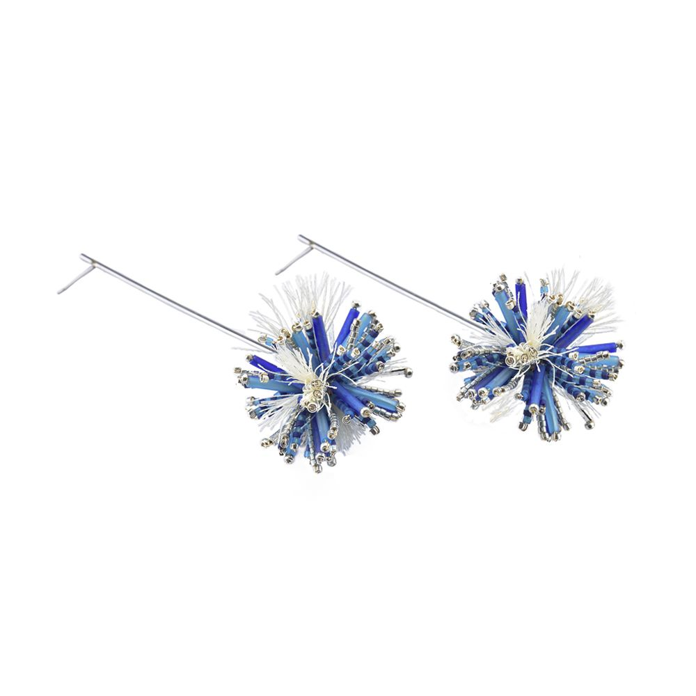 Hedgehod Earrings-BE-L (varios colores) - Hedgehod Earrings-BE-L-6528