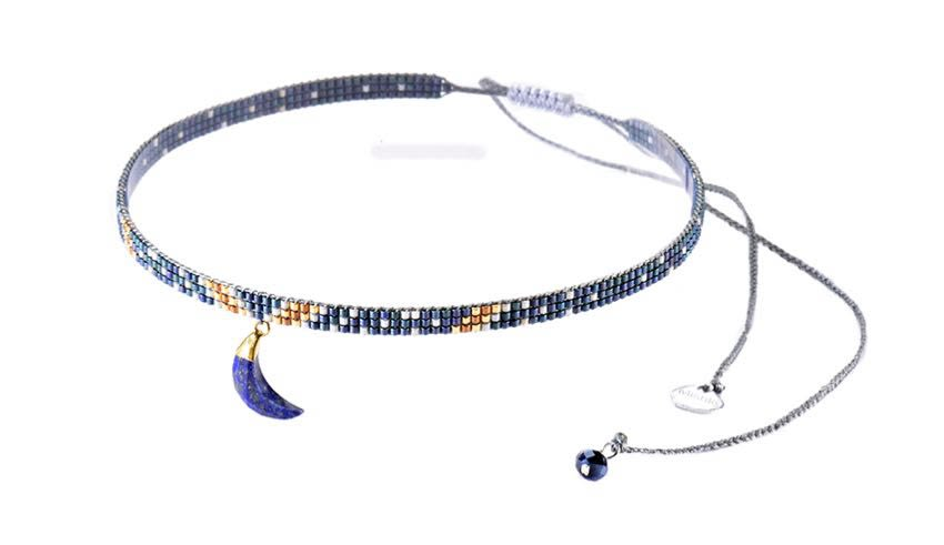 Luna Choker Necklace-BE-XS