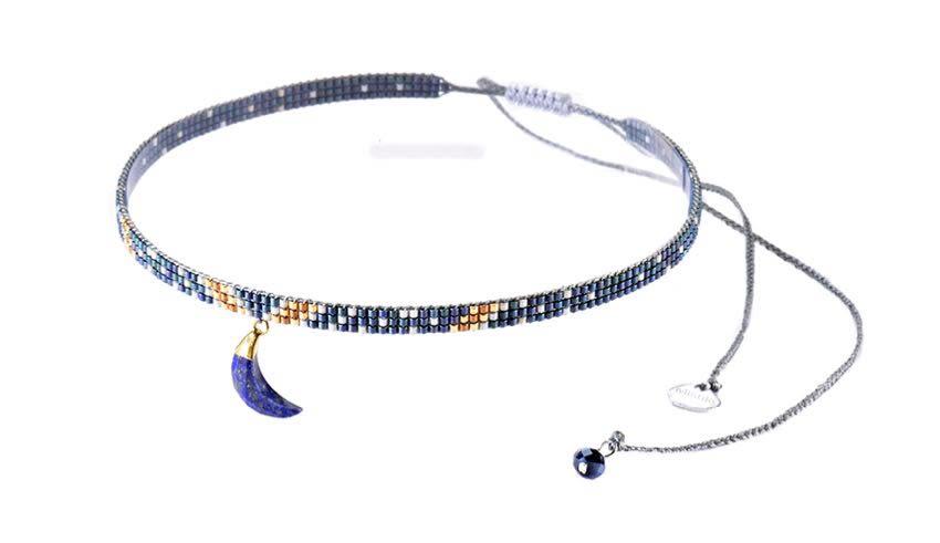 Luna Choker Necklace-BE-XS - Luna Choker Necklace-BE-XS-4830