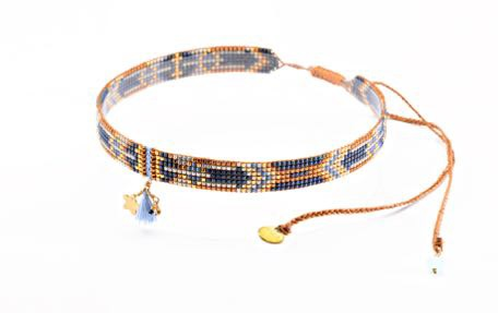Macui Choker Necklace-BE-S (varios colores) - Macui Choker Necklace-BE-S-3528