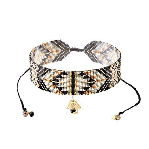 Macui Choker Necklace-BE-M (varios colores)