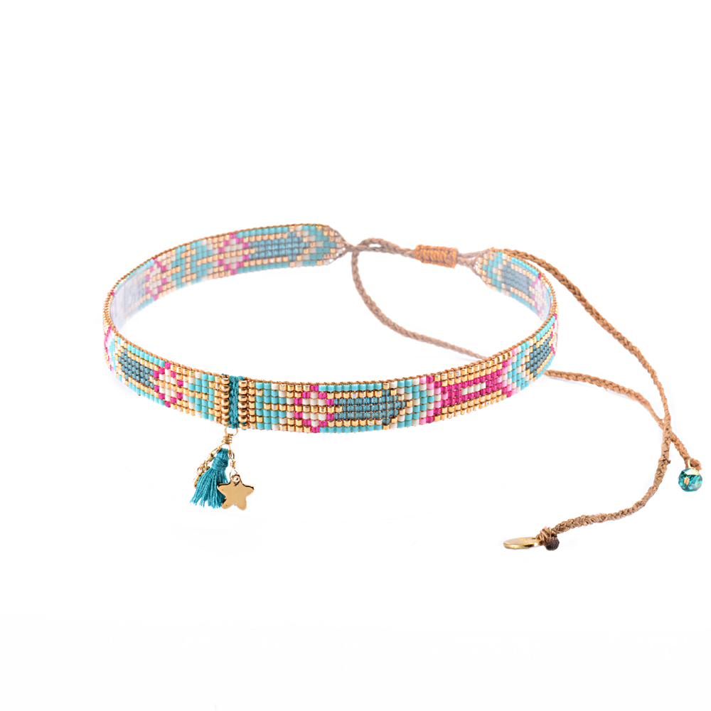 Macui Choker Necklace-BE-S (varios colores) - Macui Choker Necklace-BE-S-3830