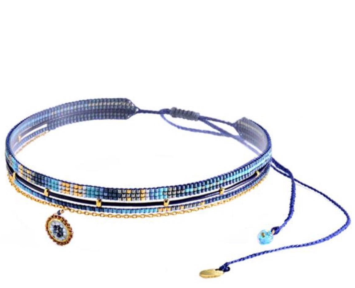 Medly Choker Necklace-GP-M (varios colores)
