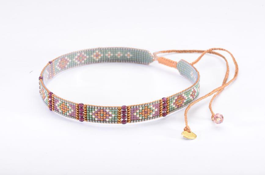 Nahui 6 Choker Necklace-BE-S