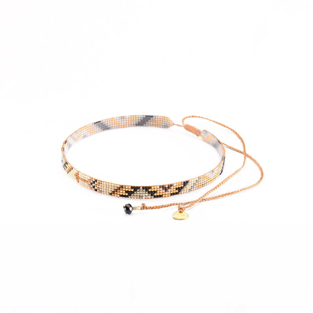 Track Choker Necklace-BE-S