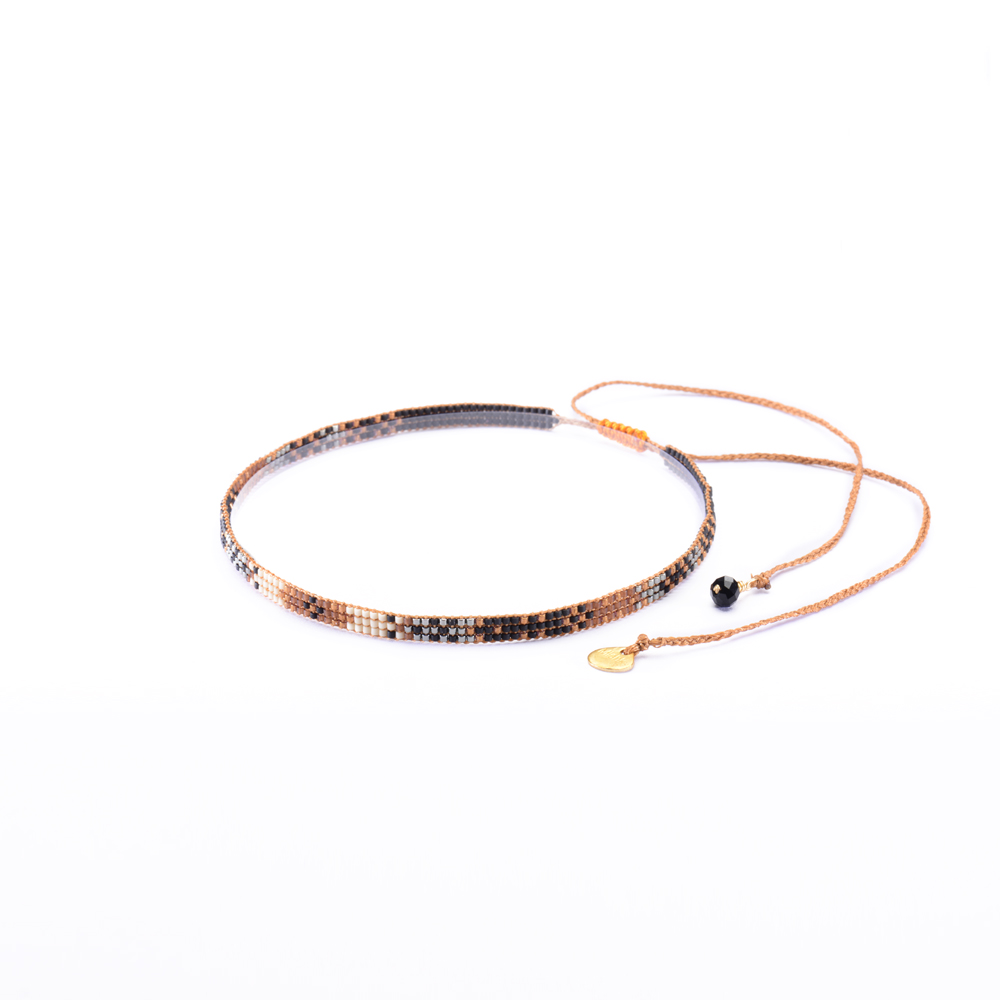 Track Choker Necklace-BE-XS - Track Choker Necklace-BE-XS-3656