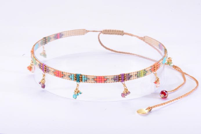 Yeyi Cristals Choker-BE-S (varios colores)