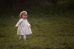 Vestido blanco bordado manga larga