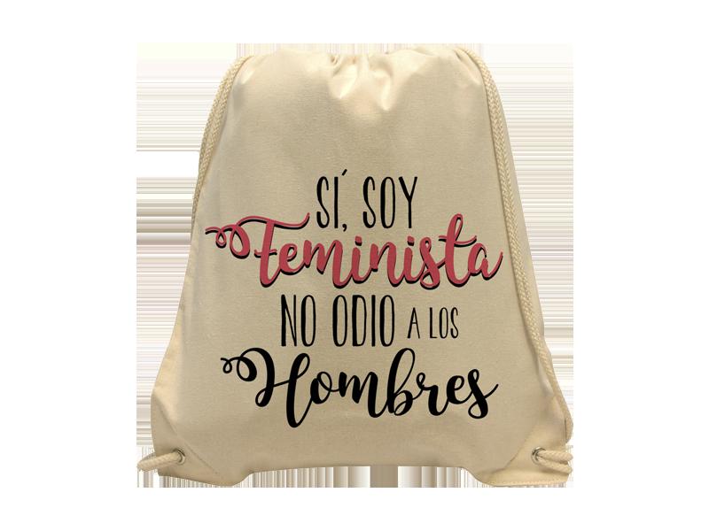 Morral algodón Feminista