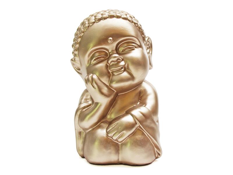 Baby Buda Amor Dorado 18 cm