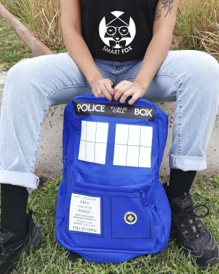 Mochila Doctor Who Tardis