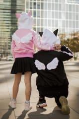 Casaca Sakura c/ Alas Negro