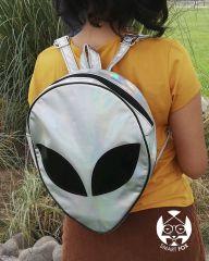 Mochila Alien holografico
