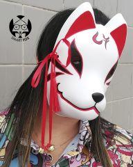 Mascara Kitsune Modelo D