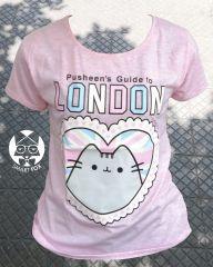 Polera Gato Pusheen London (niñx)