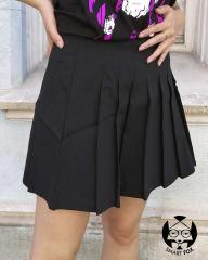 Falda Tableada - Rosy - Negro