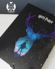 Carpeta Elastico Harry Potter