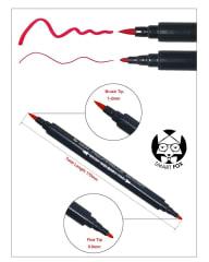 Lapiz acuarelable doble punta (unidad) Aquarelle Brush N.1012