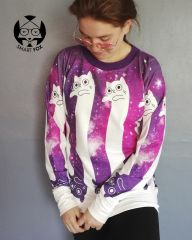 Polerón Gato Espacial