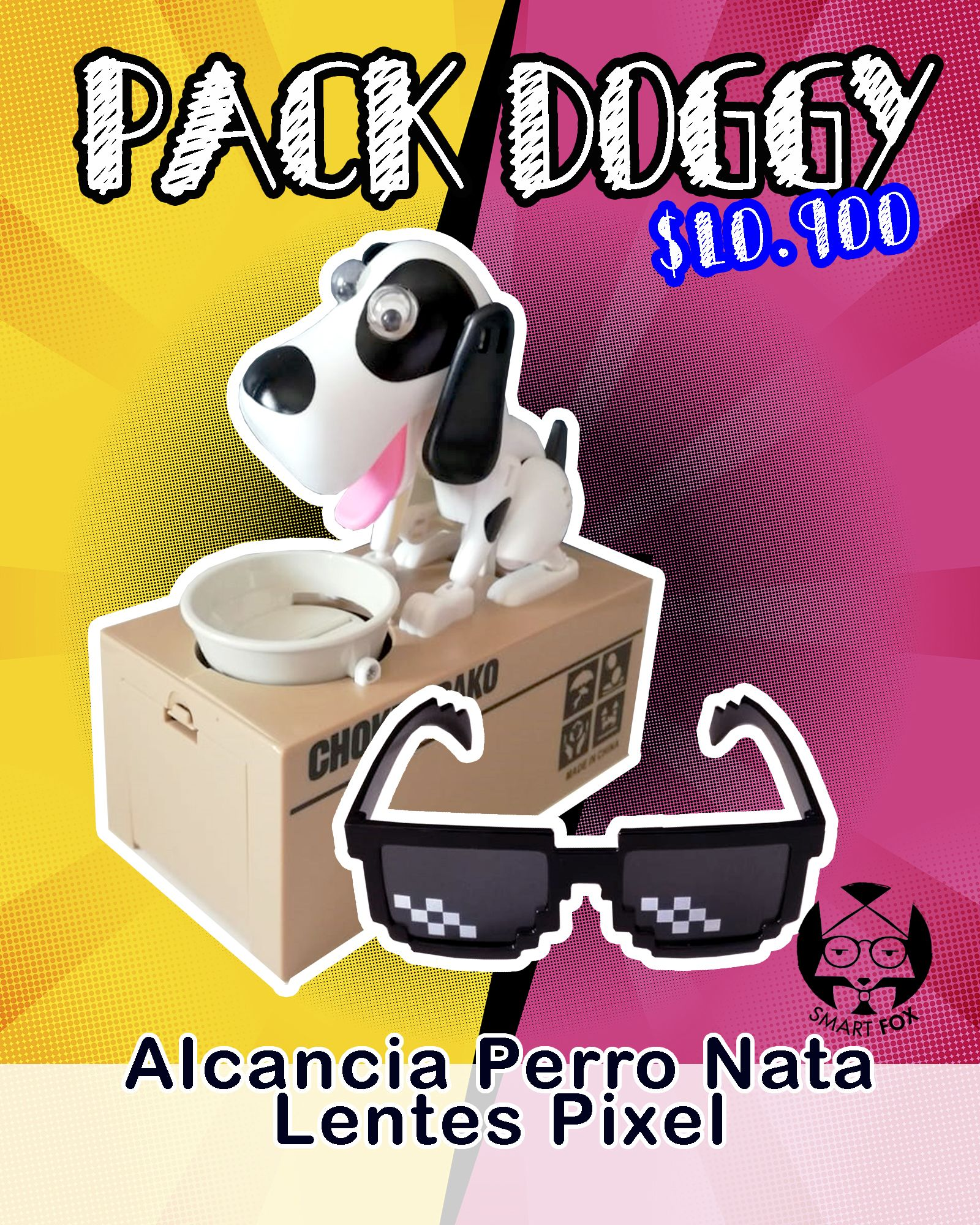 Pack Doggy Nata