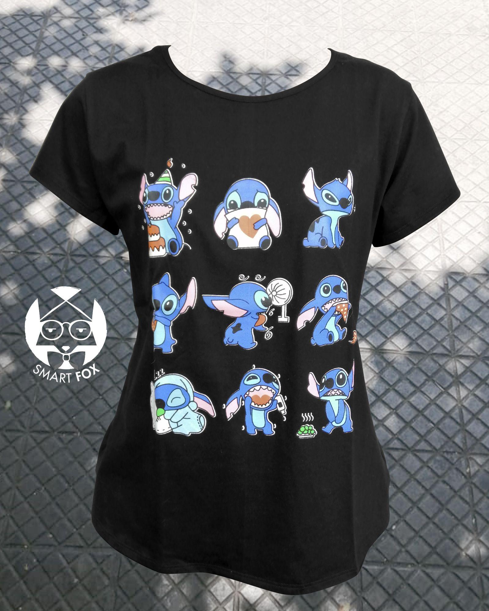 Polera Stitch Varios Cute