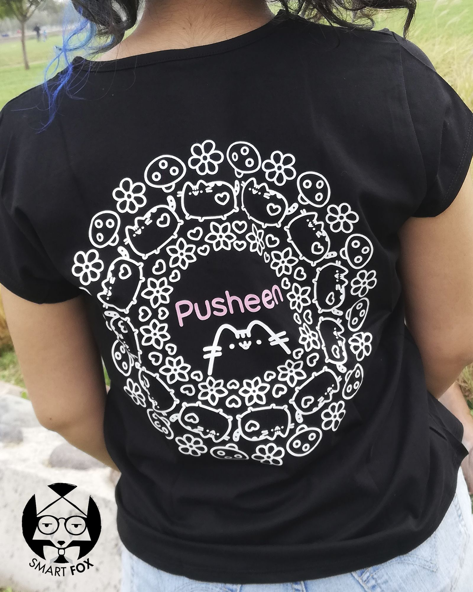 Polera Pusheen Patrón
