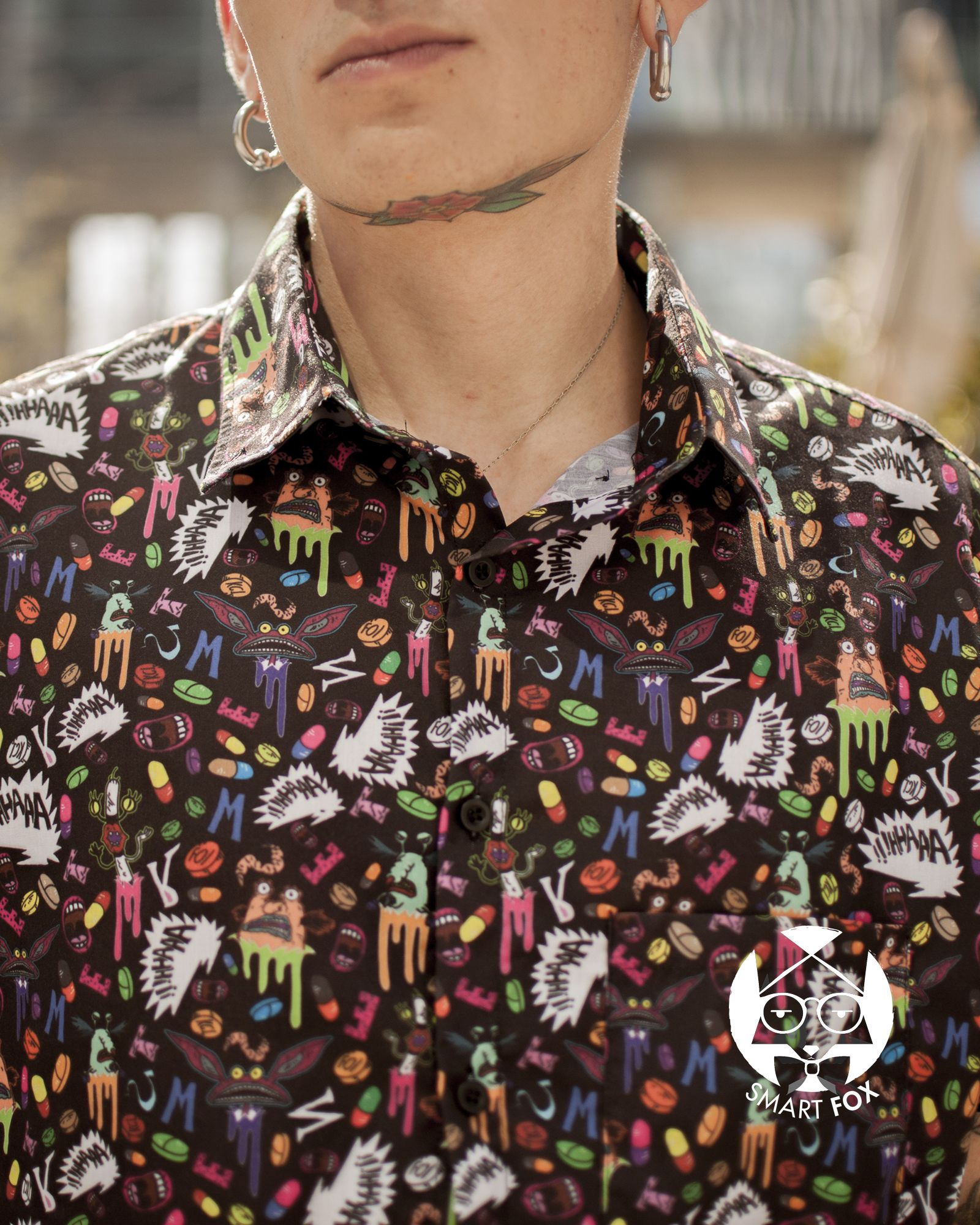 Camisa Real Monsters