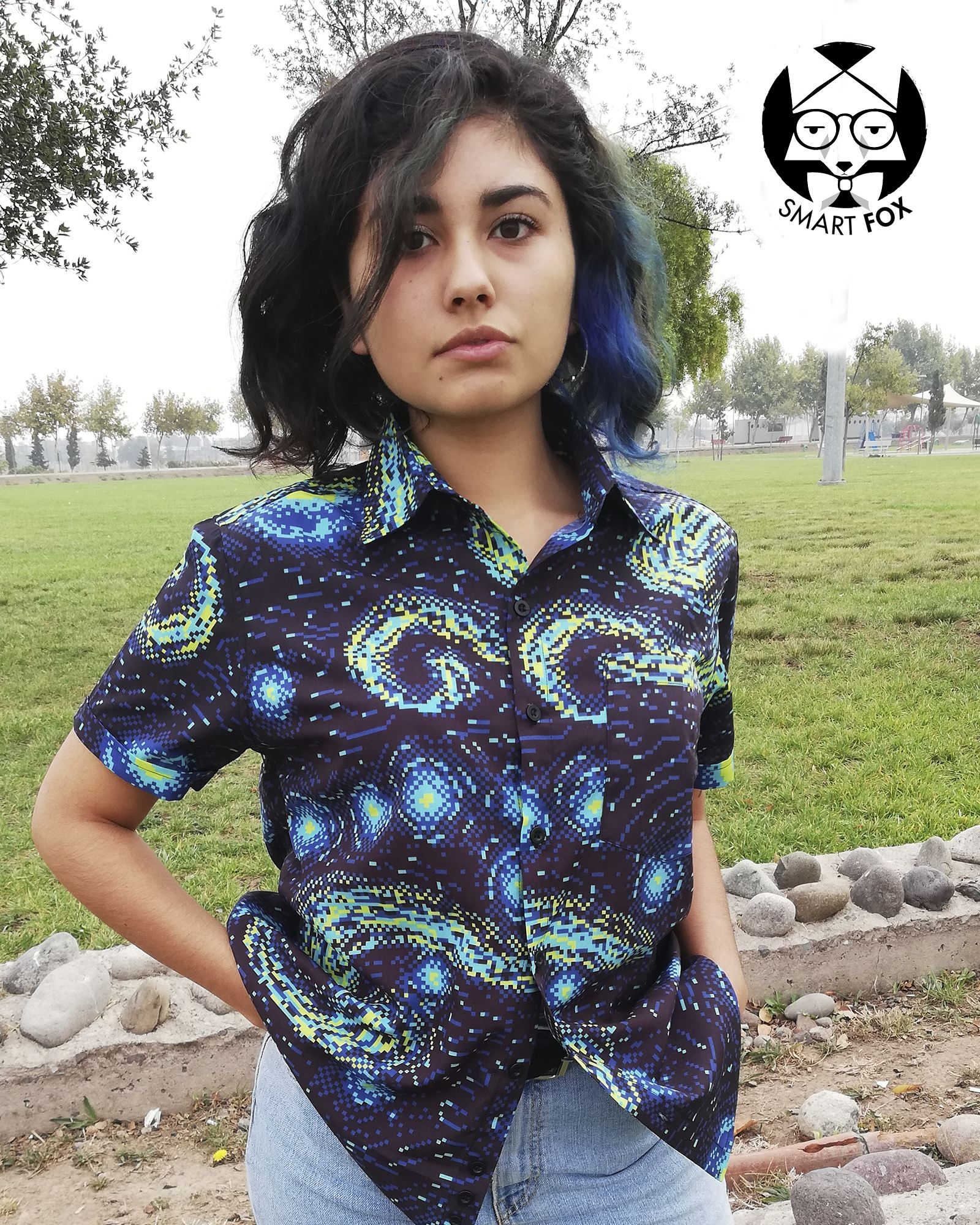 Camisa Cassette Starry Night