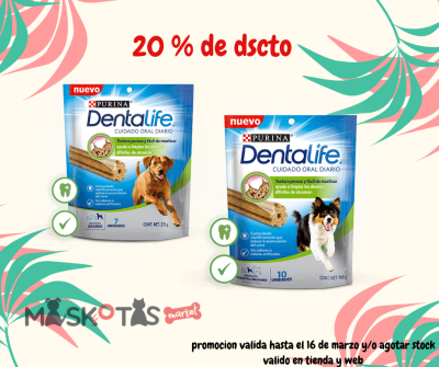 DENTAL LIFE CUIDADO ORAL DIARIO S/M