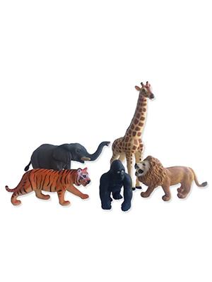 ANIMALES DE LA SELVA JUMBO