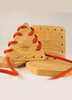 Figuras geométricas de madera
