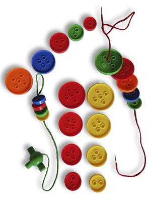 Botones para enhebrar