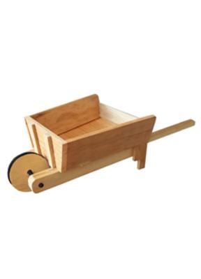 Carretilla de madera