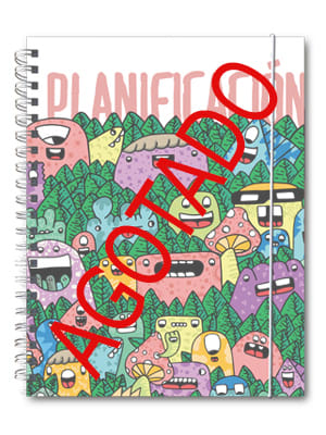 Cuaderno de planificación Brito Blanco AGOTADO