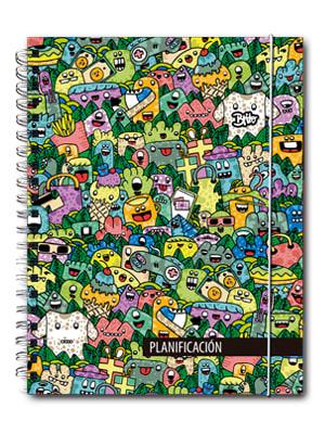 Cuaderno de planificación Brito Línea