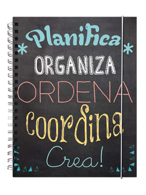 Cuaderno de planificación Pizarrón