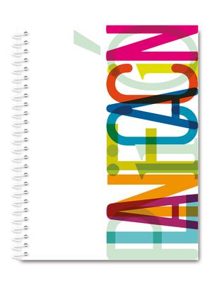 Cuaderno de planificación letras de colores