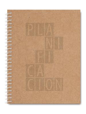 Cuaderno de planificación craft
