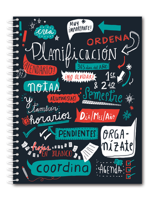Cuaderno de planificación lettering