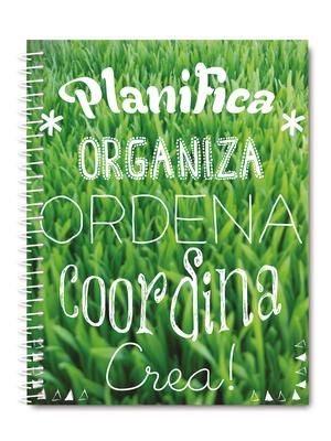 Cuaderno de planificación pasto