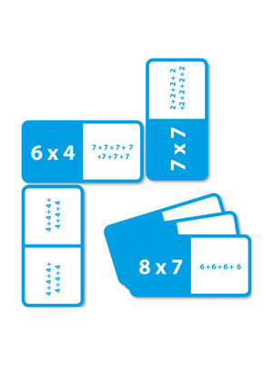Dominó multiplicación inicial