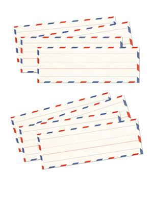 Etiquetas carta chica