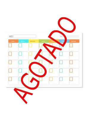 Calendario Escolar Papel español engomado AGOTADO